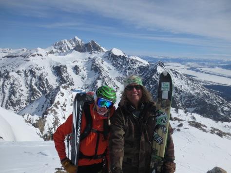 Team Red Flag Mountaineering Teton Range