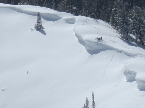 Teton Pass Cornice Kooks 2