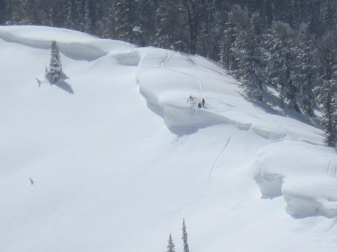 Teton Pass Cornice Kooks