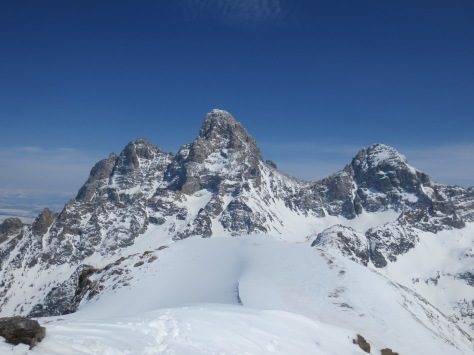 Grand Teton from Table Mountain, Winter 2014