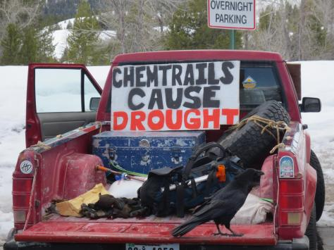 chemtrails cause drought