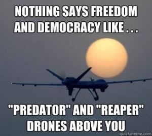 freedom democracy drones