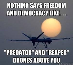 freedom democracy drones