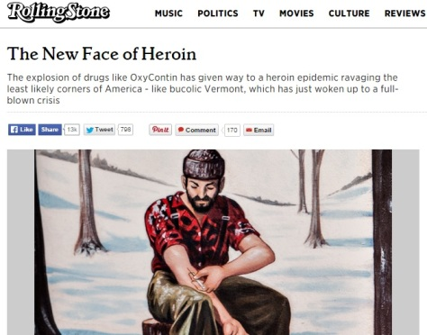 Rollingstone Article, April 2014 (click image to read full article)