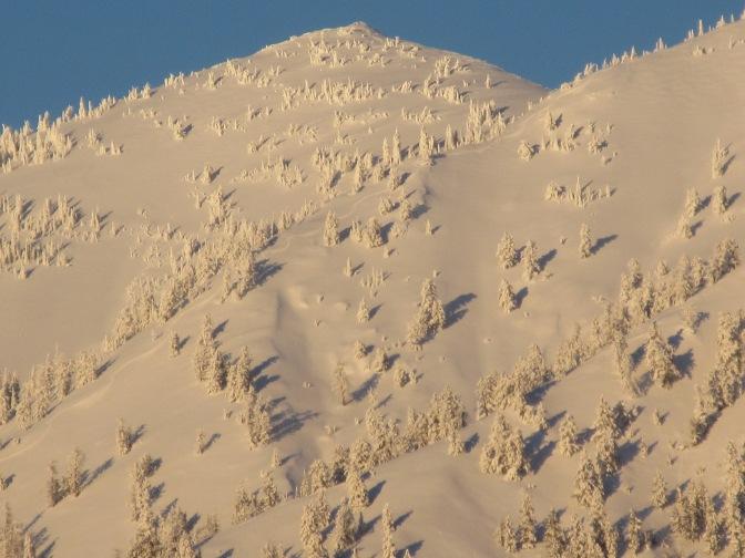 WYDAHO SNOW: FERRY PEAK: BROKEN NOSE: 12.30.2014