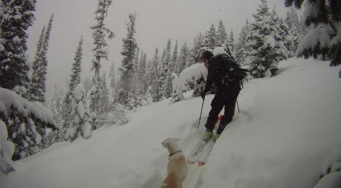 WYDAHO SNOW: 1.4.15: FERRY PEAK: ROMAN NOSE