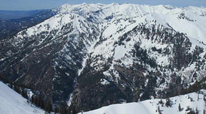 Wydaho Snow: 3.29.15: Ferry Peak West boasts good conditions top to almost bottom