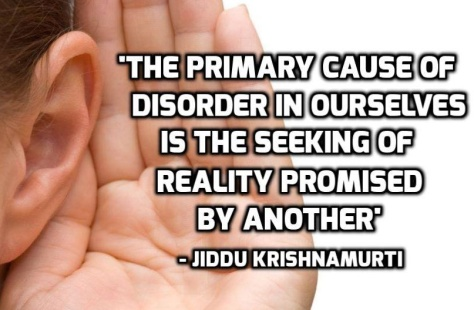 disorder and reality