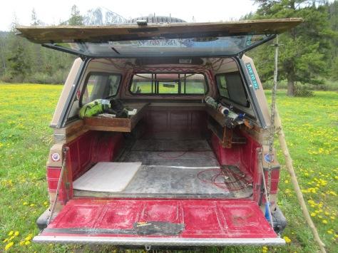 Car camping Jackson Hole