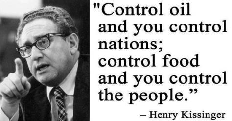 Control Oil control Food Kissinger