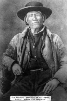 Jim Bridger: One of the first white people to give voluntary homelessness a try in Jackson Hole.