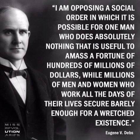 eugene debs quote social order