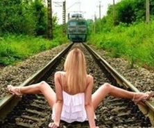 running a train