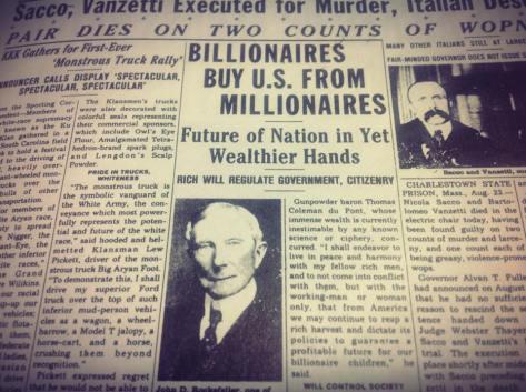 JD Rockefeller DOUCHE ETRAORDINAIRE