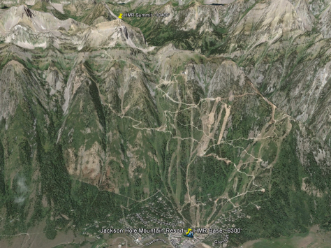 JHMR Google Earth Map