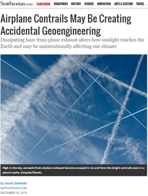 Smithsonian Geoengineering