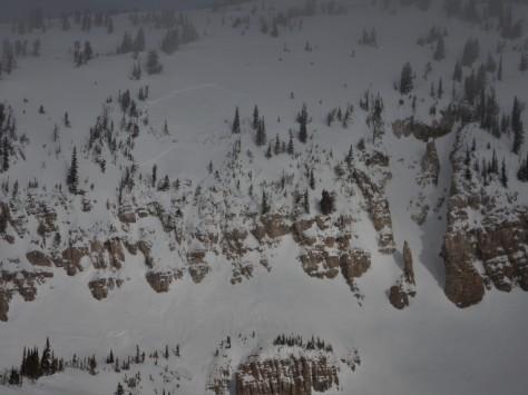 Avalanche Fatality Jackson Hole 1.24.16 M&M Ralphs Slide