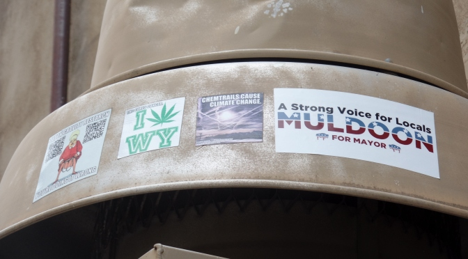 Modern Sheepeaters Vote Muldoon for Mayor
