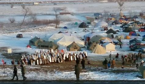 Max Mogren Standing Rock Mirror Army