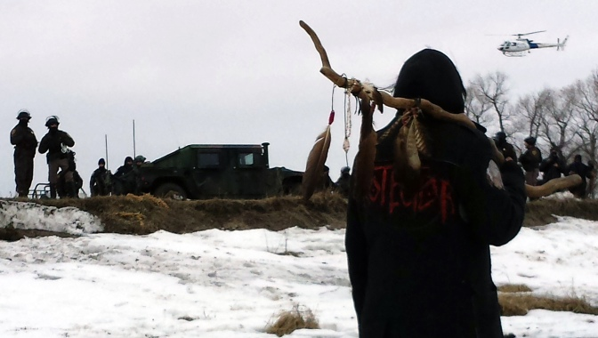 Standing Rock Eviction Spurs Humanity