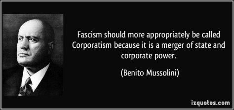 fascism quote benito mussolini