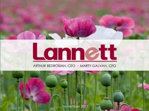 LANNETT 2017